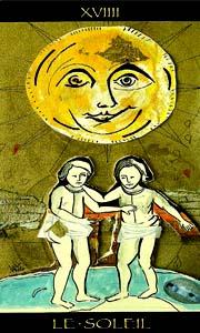 carta del sol del tarot