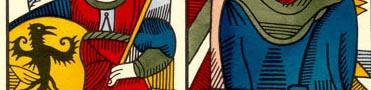 significado del color azul en el tarot
