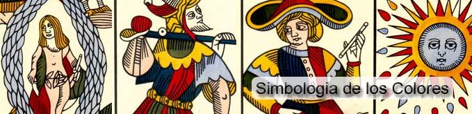 simbologia de los colores en el tarot